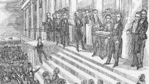 Andrew Jackson Inauguration Speech Harrison inauguration
