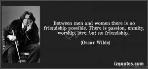 Friendship Quotes Quote Between Men And Women There