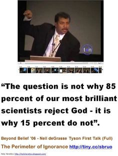 famous atheists | Neil deGrasse Tyson More