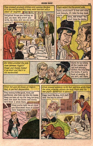 ... Classic's Illustrated version of Oliver Twist by Charles Dickens