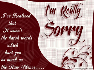 sorry quotes for deskstop background