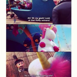 Agnes And Unicorn Quotes. QuotesGram  Despicable Me Agnes Tumblr Quotes
