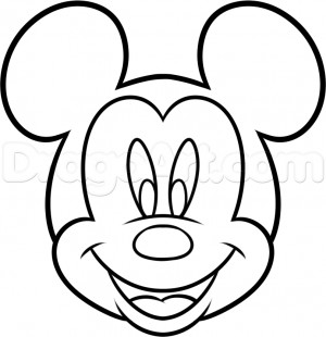 disney characters coloring pages easy cupcakes | Simple Mickey Mouse Quotes. QuotesGram