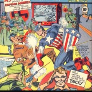 Classic comic book cover
