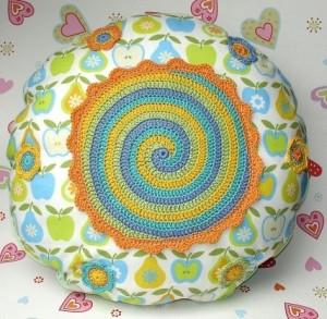 ... Crochet D I I, Knits Crochet, Cushions, Crochet Pillows, Crochet Knits