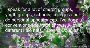 speak for a lot of church groups, youth groups, schools, colleges ...