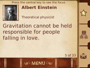 Screenshot 4 of 3001 Wisdom Quotes (BlackBerry)