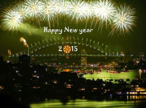 Happy New Year 2015 Korean Wishes, SMS, Images