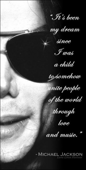 Beautiful quote from Michael