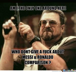 Messi Vs Ronaldo ?!