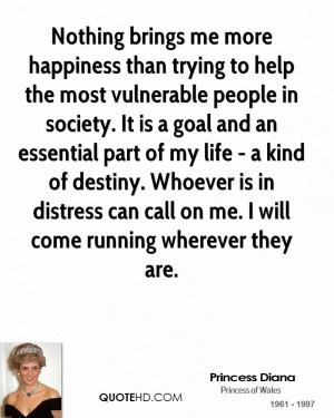 Princess Diana Society Quotes