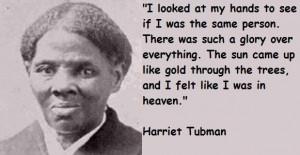 Harriet tubman famous quotes 3
