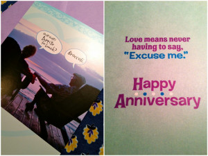 Month Anniversary Card 2