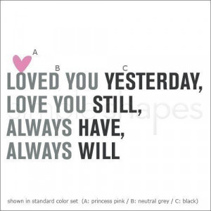 Love You Always Quotes Love you always quote