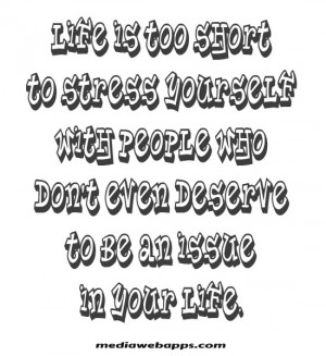 Funny Quotes For Stressed People #1
