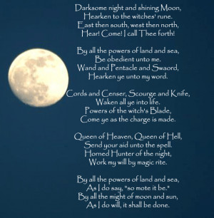 Witch's Chant quote scary witch halloween poem chant halloween quotes