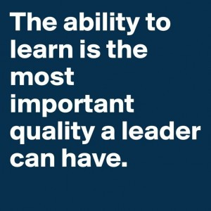 STAAK QUOTES: Leading is Learning