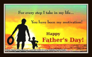 For every step I take in my life ..You have been my motivation . HAPPY ...