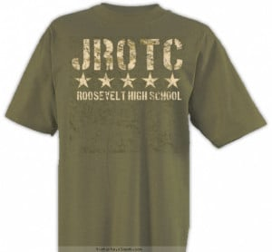 Classic JROTC Shirt Design Description