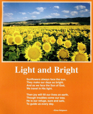 ... Helgason: Sunflowers Poem, Sunflowers Quotes And Poem, Nature Poem