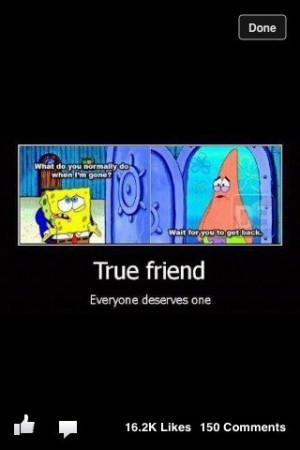 Spongebob And Patrick Quotes About Friendship 2013 #spongebob #patrick