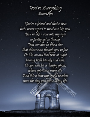you are my everything quotes poems