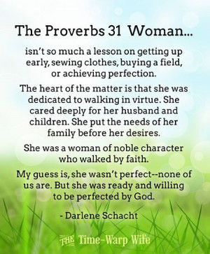 Free Printable - The Proverbs 31 Woman | Time-Warp Wife - Empowering ...