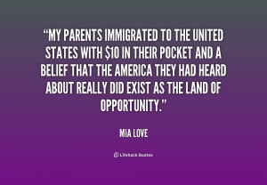 this quote from i hope i make both my parents i love my parents quotes