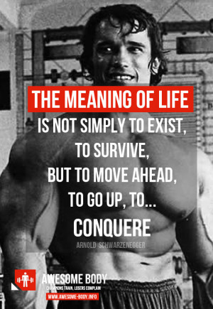 Arnold Schwarzenegger quotes | The Meaning of Life