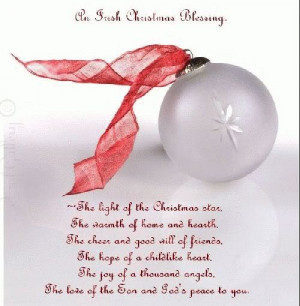 Christmas Blessing Quote
