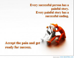 """... Ending. Accept The Pain And Get Ready For Success """" ~ Mistake Quote"""