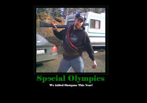 Phoolish Special Olympics Motivational Poster