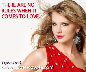 Taylor Swift Famous Quotes