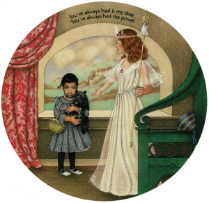 Glinda The Good Witch Quotes sell the original painting