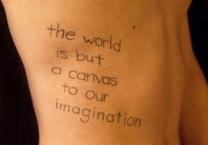 Meaningful Back Tattoo