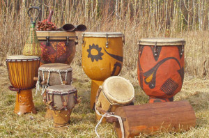 Material Culture: African Drums