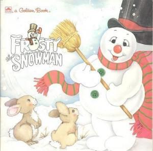 Frosty the Snowman (a Golden Super Shape Book)