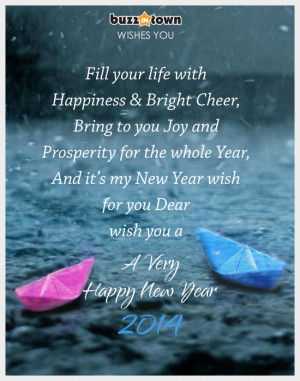 Happy New Year 2014 Wishes, Greetings, SMS & Quotes | Images ...
