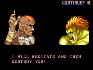 Top 7... weirdest Street Fighter insults