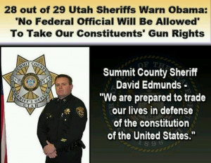 Gun rights.....right there with you...Sheriff Edmunds!