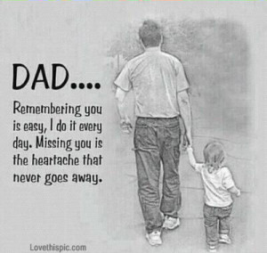 Remembering you dad