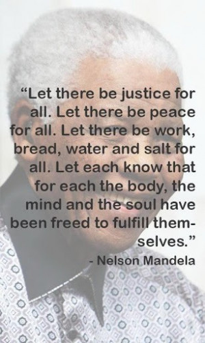 View bigger - Nelson Mandela Quotes No.3 for Android screenshot