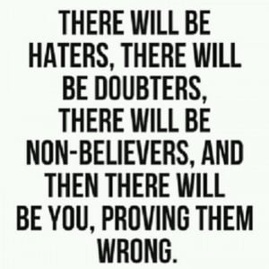 will #prove you wrong!!!