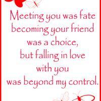Falling in Love Beyond Control