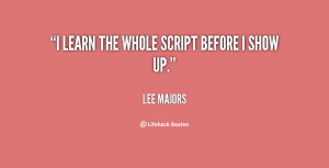 Lee Majors Quotes