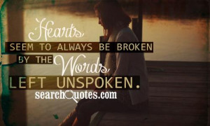 Silence Quotes about Being Hurt By Someone You Love