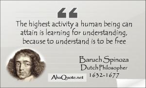 Baruch Spinoza quotes