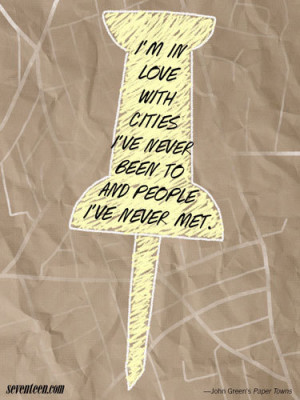 Quotes From Paper Towns John Green