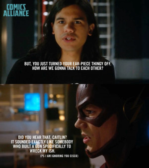 Cisco and Barry Allen