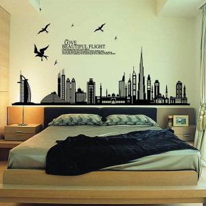 Removable Wall Stickers Art Decals Quotes Wallpapers Living Room